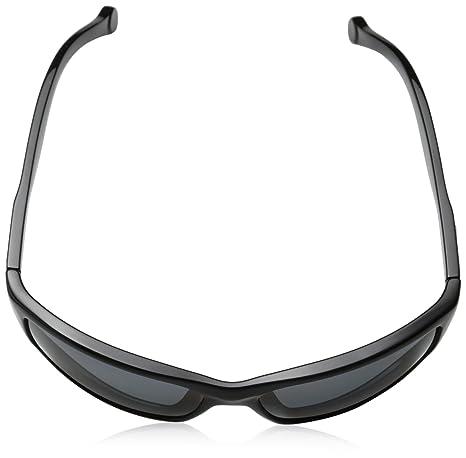 8275a4a5a8 Amazon.com  Arnette Boiler AN4207-01 Polarized Rectangular Sunglasses