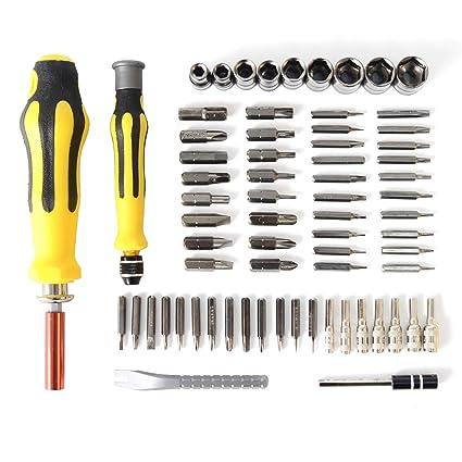 Juego de destornilladores, de precisión Kit de herramienta de ...