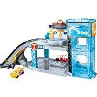 Disney Pixar Cars Florida 500 Racing Garage, Favorite movie location play set!