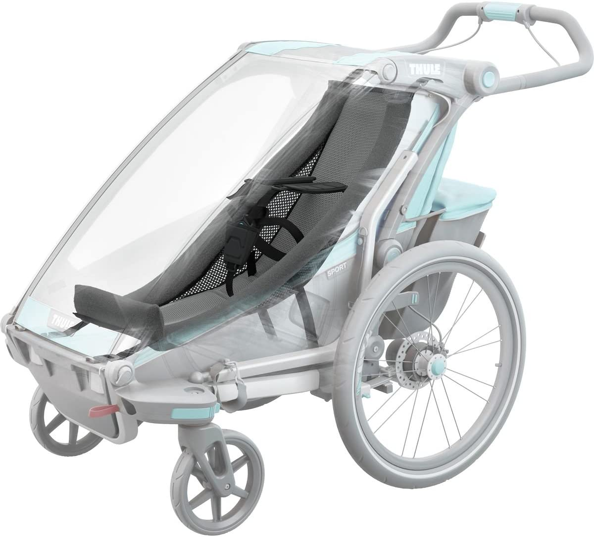 Cross 1-10 Months Lite Chariot Infant Baby Child Sling Thule Sport Cab