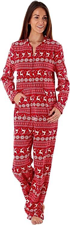 Selena Secrets - Pijama de forro polar de una pieza, con capucha