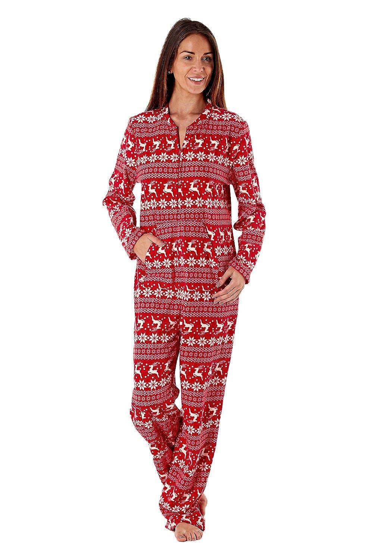 TALLA 38. Selena Secrets - Pijama de forro polar de una pieza, con capucha