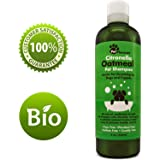 Oatmeal Dog Shampoo with Citronella Bug Repellant Oil for Itchy Skin – Best Tearless Puppy Shampoo and Conditioner – All Natural Dog Shampoo for Sensitive Skin – Medicated Strength Pet Deodorizer