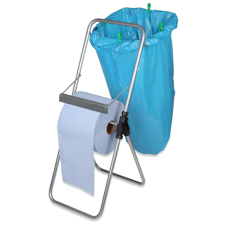 Papierrollenständer 30 cm mit Müllsackhalter: Amazon.de: Baumarkt