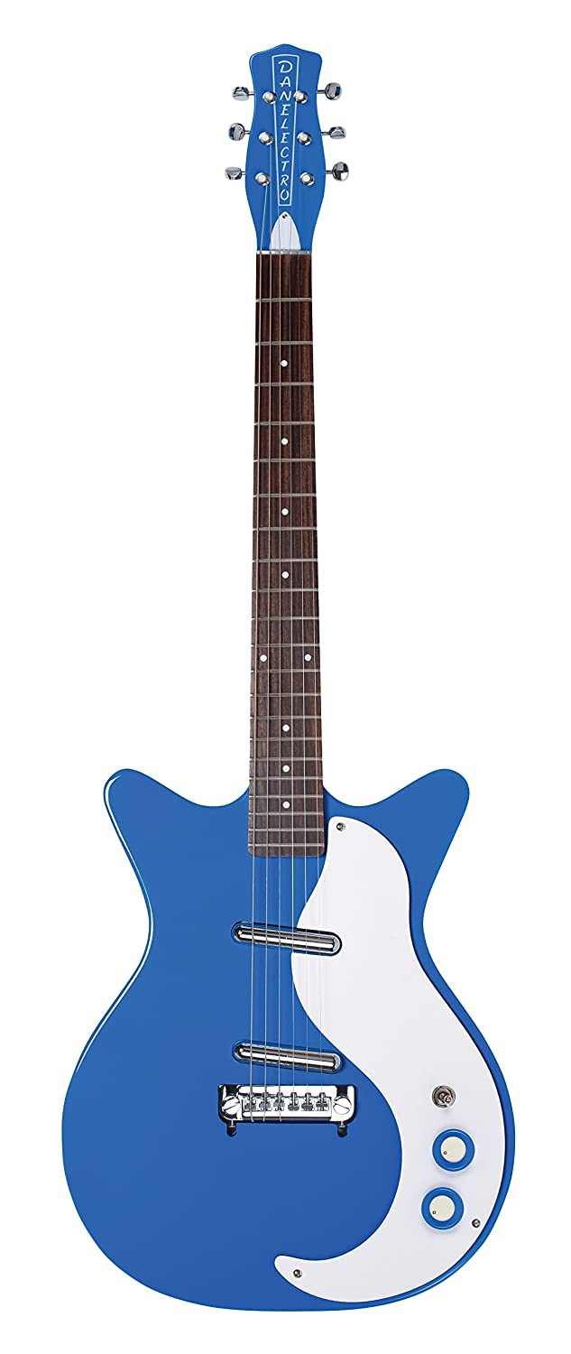 Danelectro 59 Modified New Old guitarra eléctrica azul: Amazon.es: Instrumentos musicales