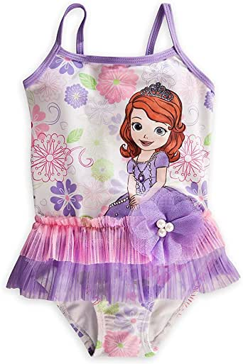 Amazon.com: Disney Store Sofia the First Swimsuit Size ...