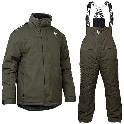 Fox Carp Invierno Suit - Traje térmico (para Pesca, Nieve ...