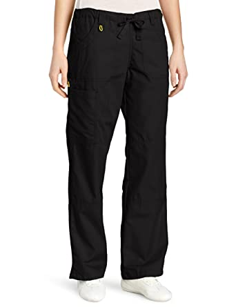Amazon.com: WonderWink Women's Scrub Cargo Pant: Work Utility ...