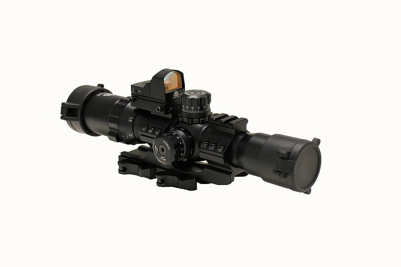 Trinity Force 1-4x28 Assault Series Riflecope,Mil-Dot Reticle