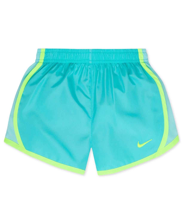 NIKE Fresh Tempo Shorts, Toddler & Little Girls, Fresh Mint (262139-E4C) / Water Blue, 2T