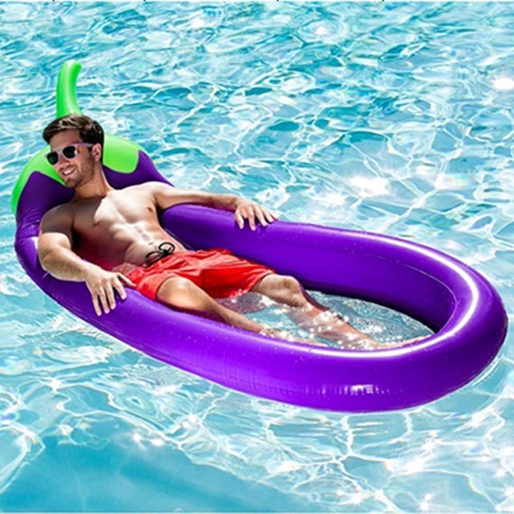 ZYT Inflable Piscina de Flotador,Playa de diversión Flotadores, Nadar Fiesta de Juguetes, Pool Island,Salón de Balsas de Verano para Adultos y niños,1 Bomba de Mano, 1 Kit de reparación