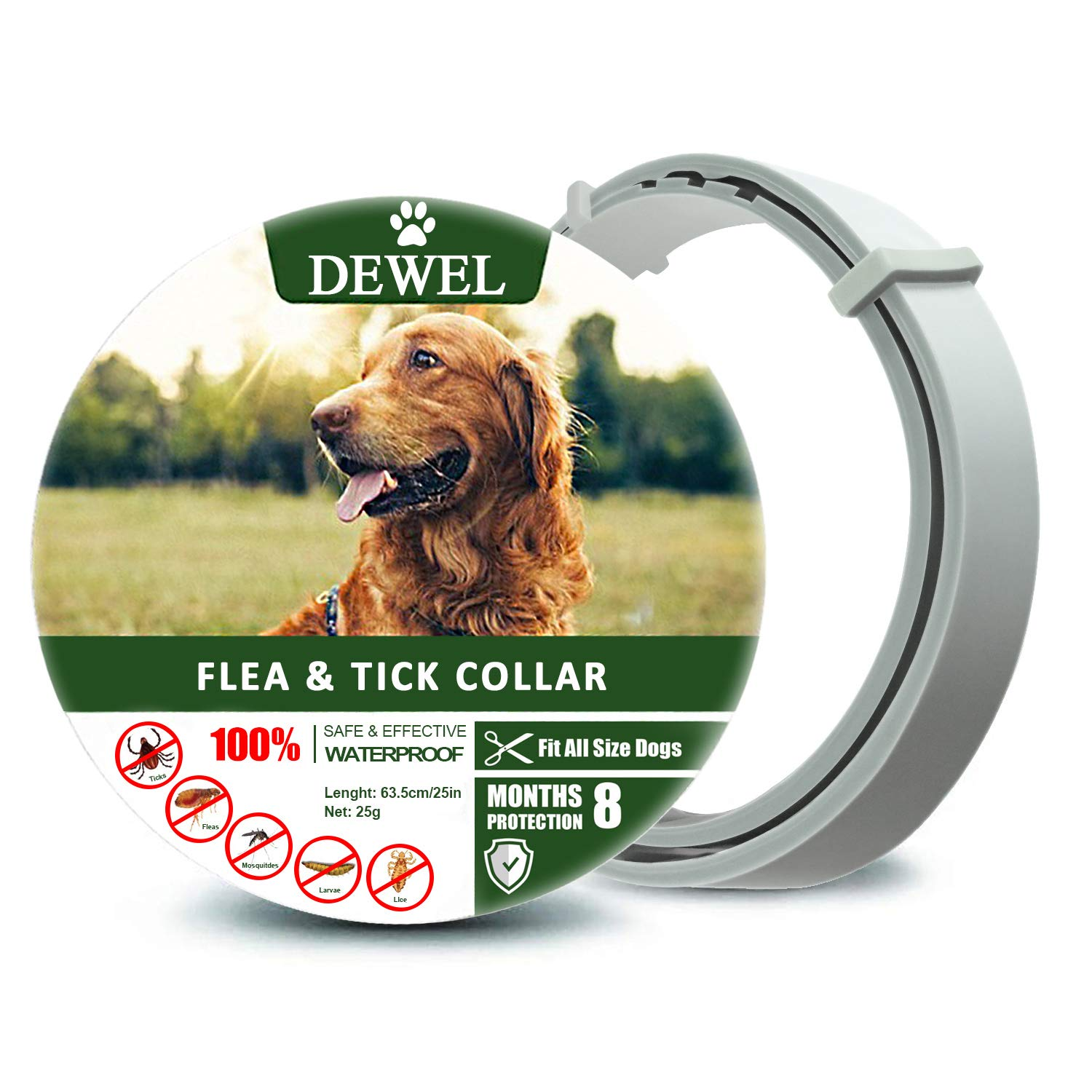 Fedciory Prevention Collar for Large and Small Dogs Control Dog Collar for 8 Months- 07