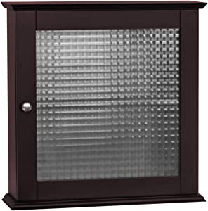 Elegant Home Fashions Chesterfield Bathroom Cabinet, One Size, Espresso