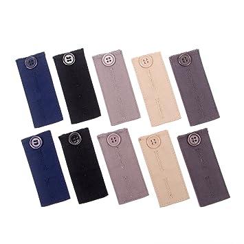 cd233678bc9b Rallonge ceinture à taille réglable de 10 pièces pour pantalons ...