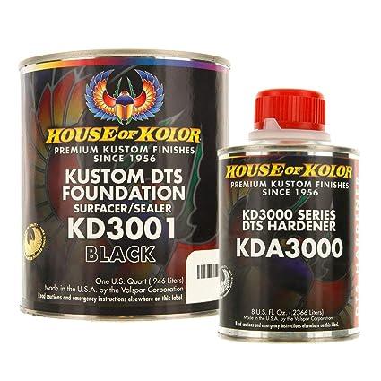 Amazon House Of Kolor Kd3001 Black Epoxy Surfacer Sealer Gallon