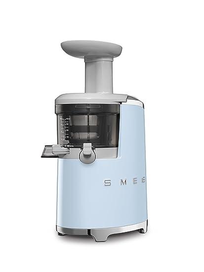 Smeg SJF01PBUS 150W 50s Retro Style Aesthetic Slow Juicer Pastel Blue