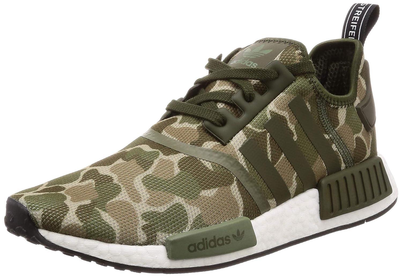 TALLA 44 EU. Adidas NMD_r1, Zapatos de Cordones Derby para Hombre