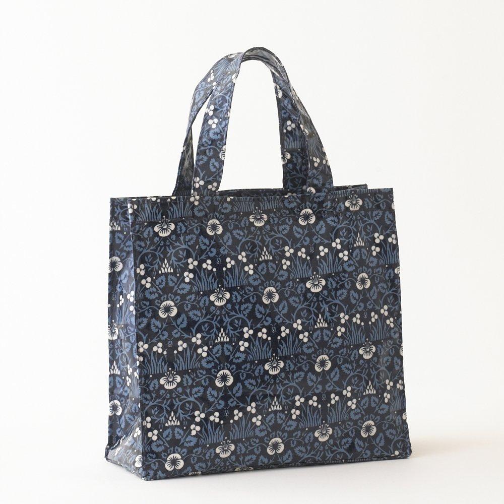 Fox /& Deer Tote Bag in Green by Susie Faulks Bag Oilcloth Bags Best Oilcloth Bags Original Print Fox  Deer Shopping bag  vegan bag
