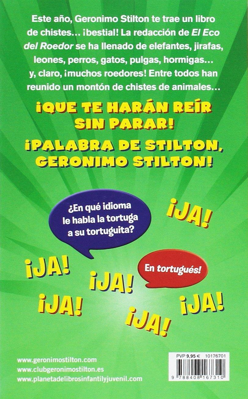 CHISTES MORROCOTUDOS 4 ESPECIAL ANIMS: Geronimo Stilton: 9788408167310: Amazon.com: Books