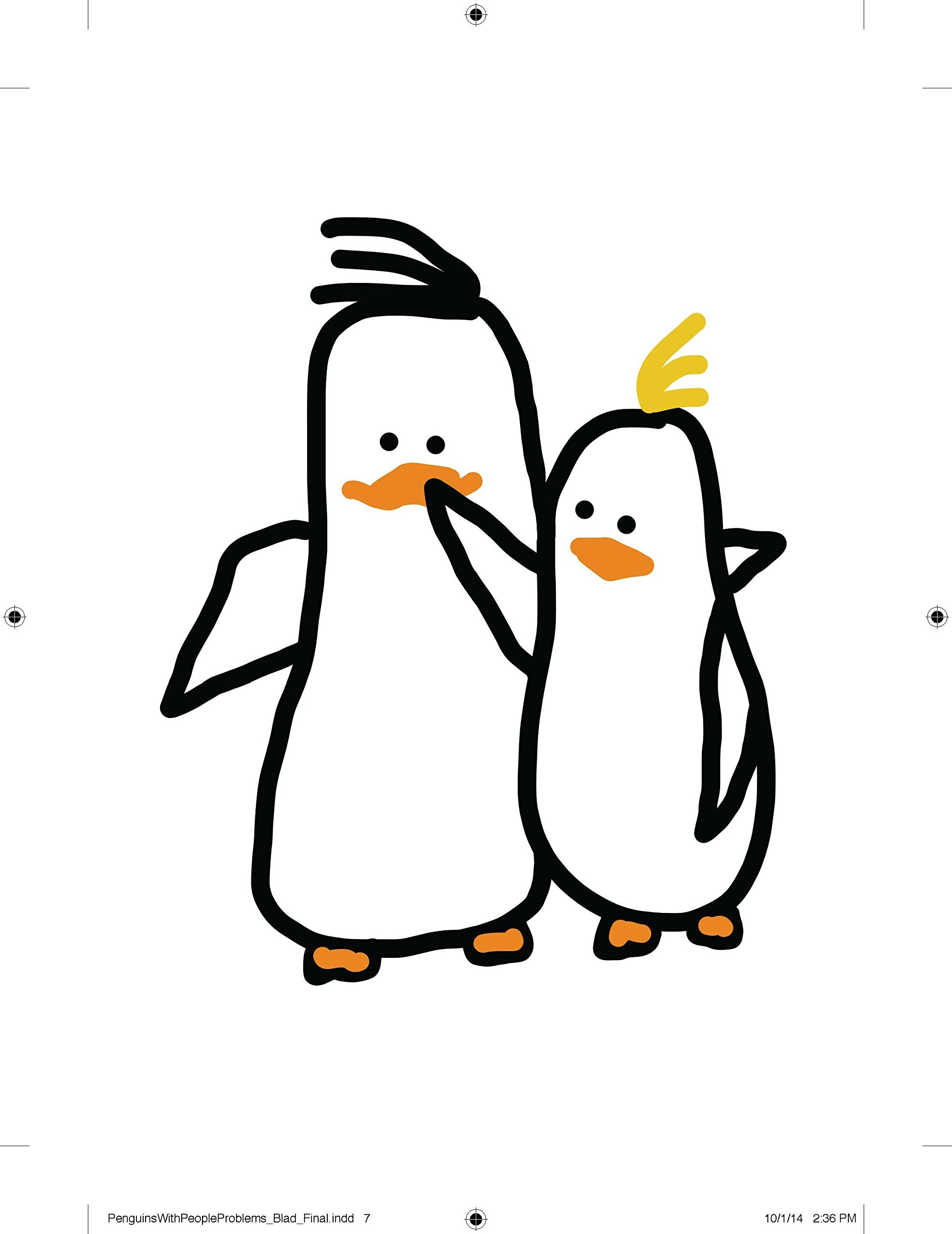 penguins with people problems mary laura philpott 9780399173097