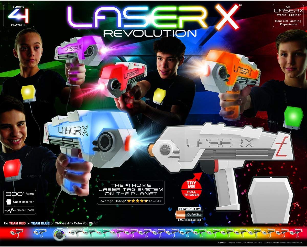 Laser X Revolution 4 Players Set