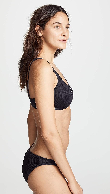 61d3917eeb Amazon.com: Kate Spade New York Women's Marco Island Zipper Pull Bikini Top:  Clothing