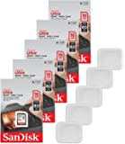 5x Genuine SanDisk Ultra 16GB Class 10 SDHC Flash Memory Card Up To 80MB/s Memory Card (SDSDUNC-016G-GN6IN) W/ Memory…