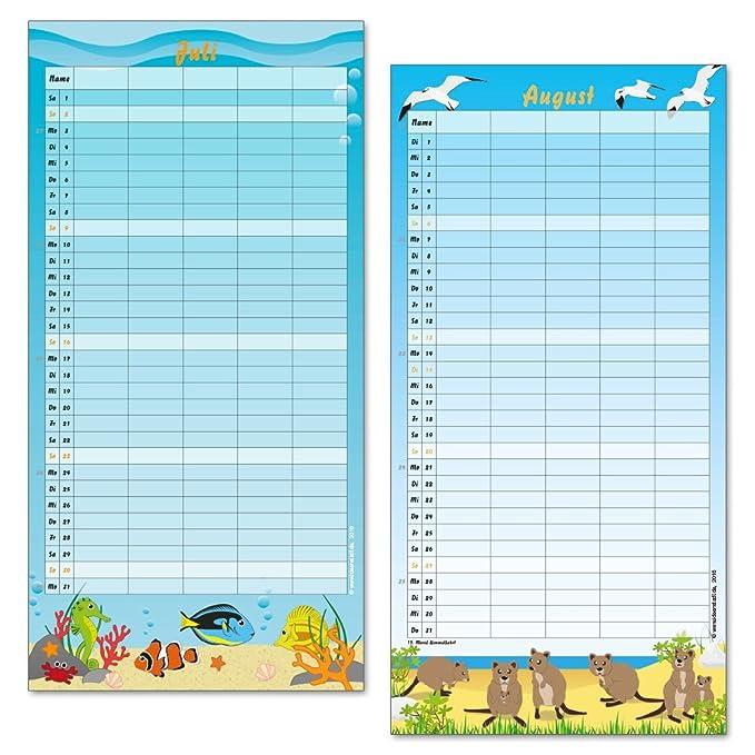 Familienkalender Familienplaner 2017 - tierisch - witzig - Eulen ...