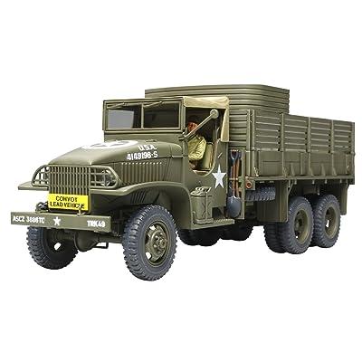 Tamiya Models US 2 1/2 Ton 6x6 Cargo Truck Model Kit: Toys & Games
