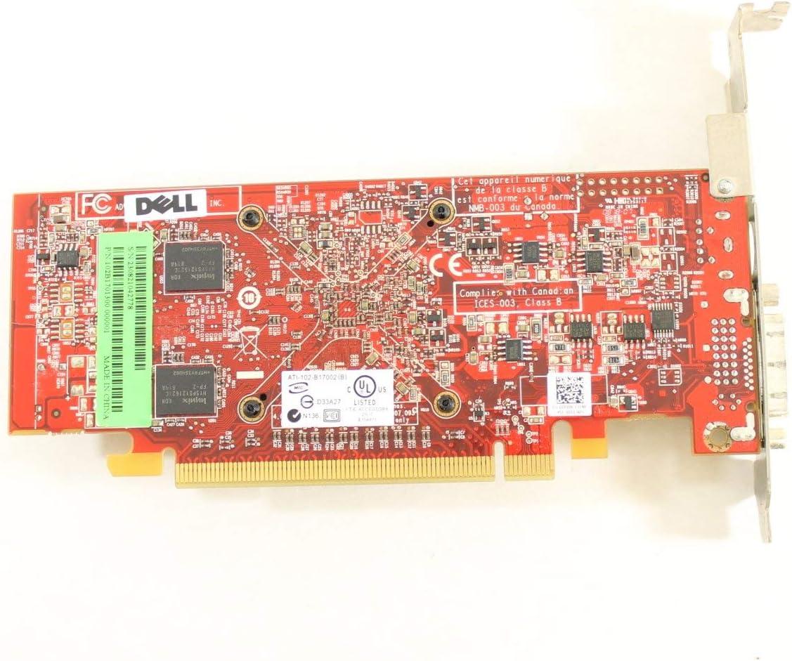 Dell CP306 ATI Radeon HD2400 Pro 256MB Video Card Optiplex 330 740 745 755 760 Graphics (Renewed)