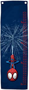 Jay Franco Marvel Spiderman Friendly Neighbor Growth Chart – Kids Removeable Wall Décor (Official Marvel Product)