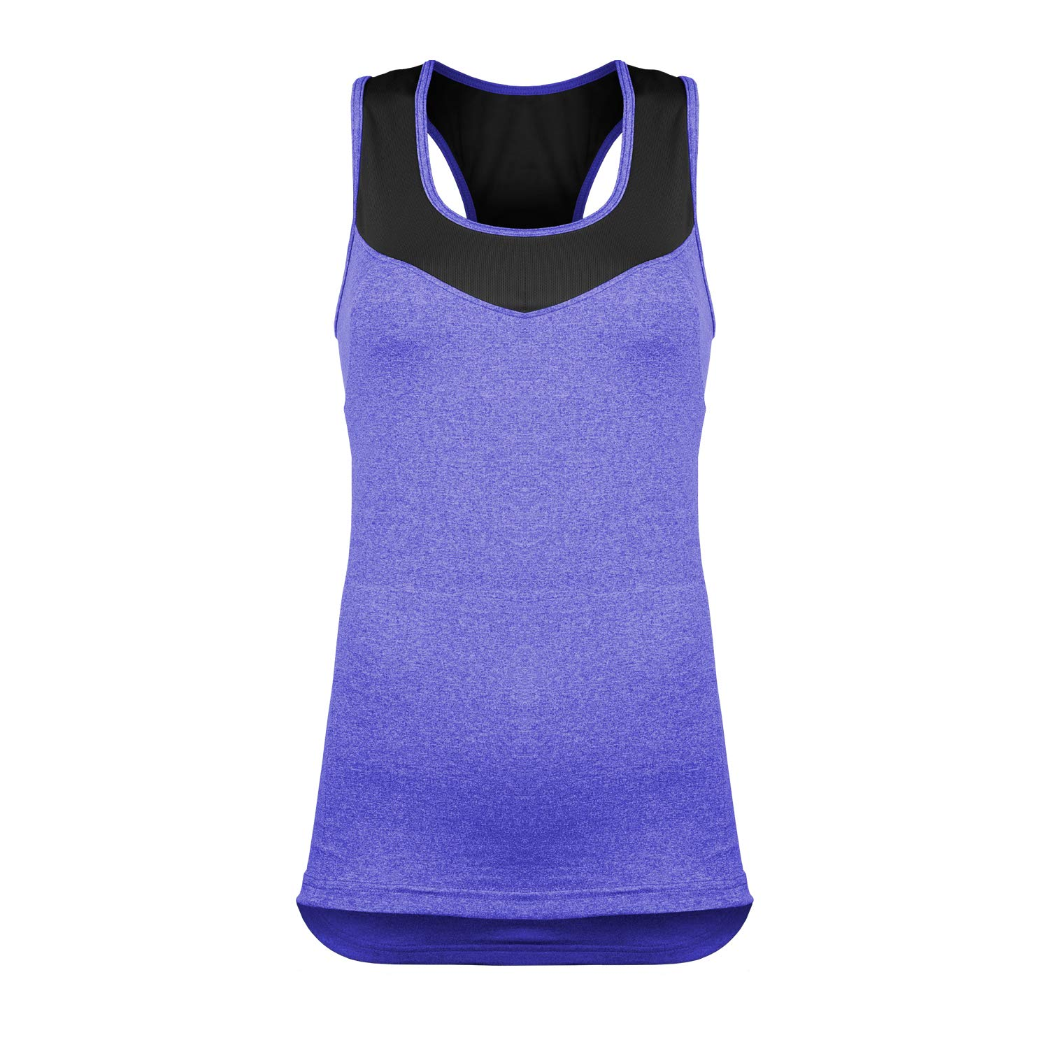 Women's Activate Cycling & Running Tank Top with Pockets (Large, Purple) by Urban Cycling Apparel