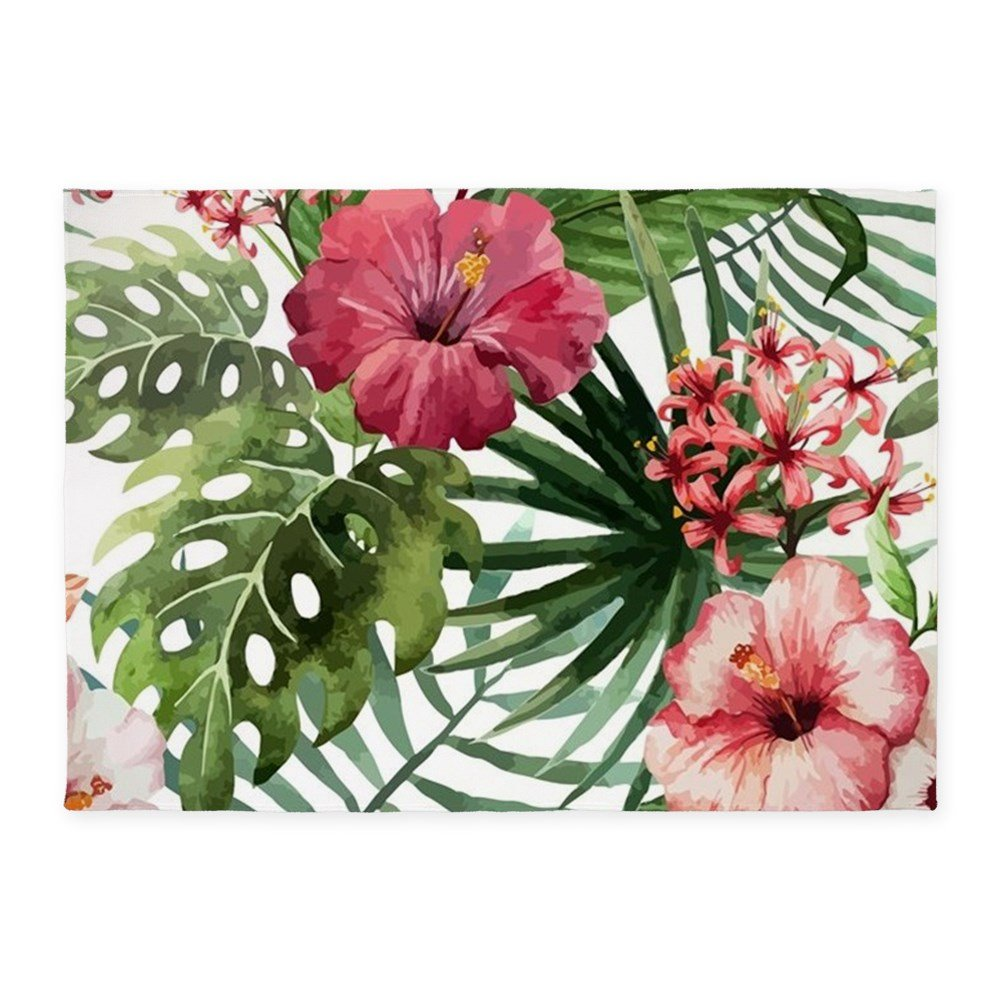 Amazoncom Cafepress Beautiful Tropical Pink Hibiscus Flowers