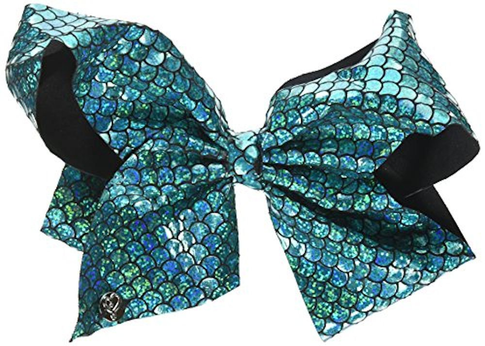 Nickelodeon Jojo Siwa Mermaid Bow Hair Costume, Turquoise