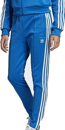 pantalon femme adidas bleu