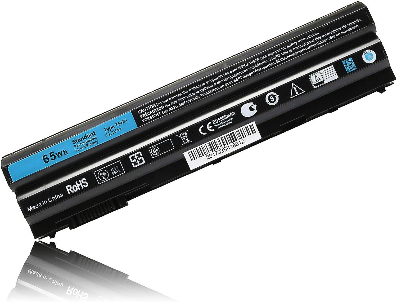 T54FJ Laptop Battery for Dell Latitude E6420 E6430 E5420 E5430 E5520 E5530 E6520 E6530 Battery Inspiron 14R 15R 17R Series fits T54F3 YKF0M X57F1 04NW9 8858X KJ321 M5Y0X NHXVW 4YRJH Notebook-11.1V 65W