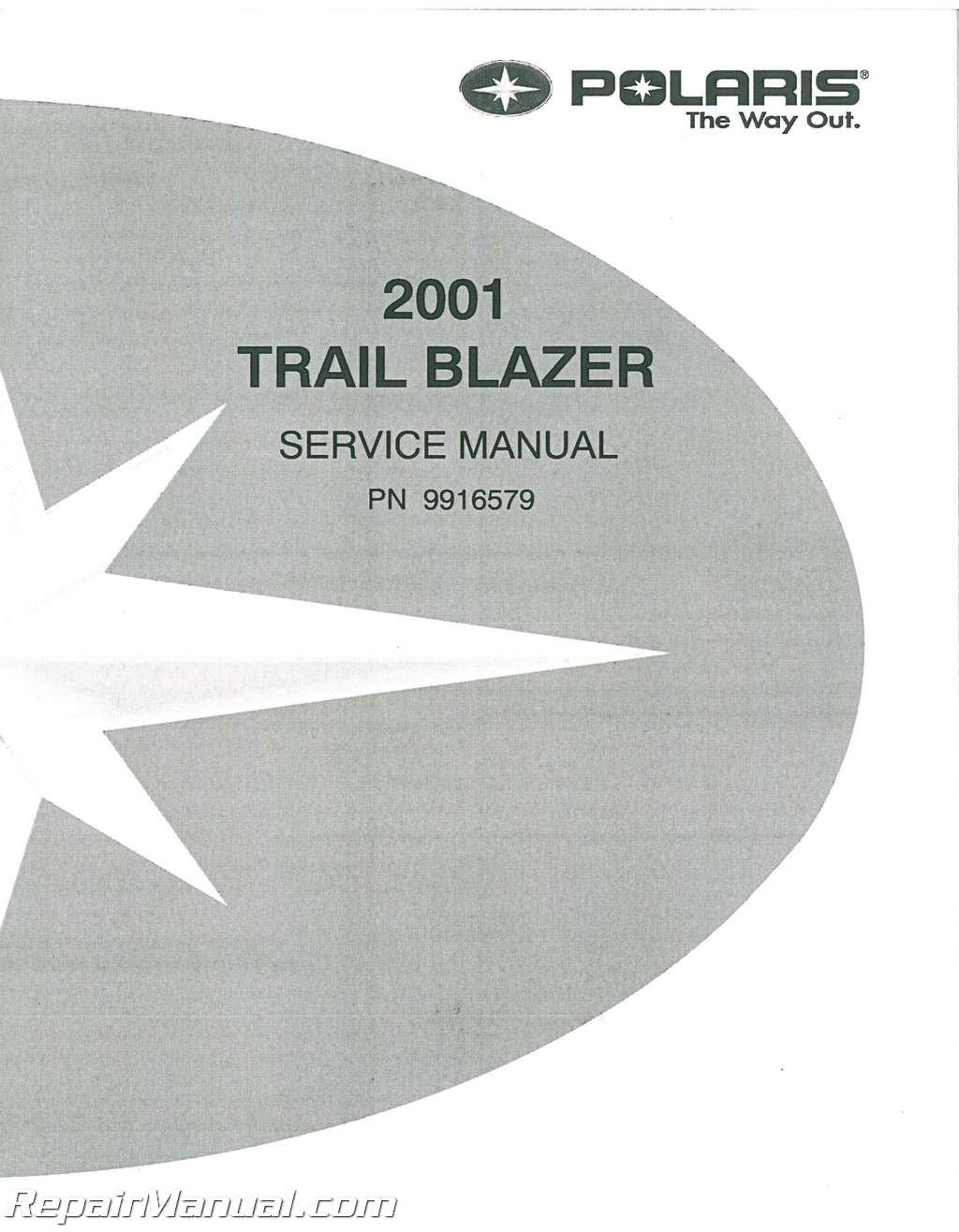 9916579 2001 Polaris Trail Blazer 250 ATV Service Manual: Manufacturer:  Amazon.com: Books