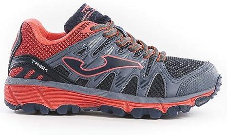 Joma Adventure Shoes Junior J_TREKS 912 - Zapatillas de Deporte, Color Gris y Rosa: Amazon.es: Deportes y aire libre