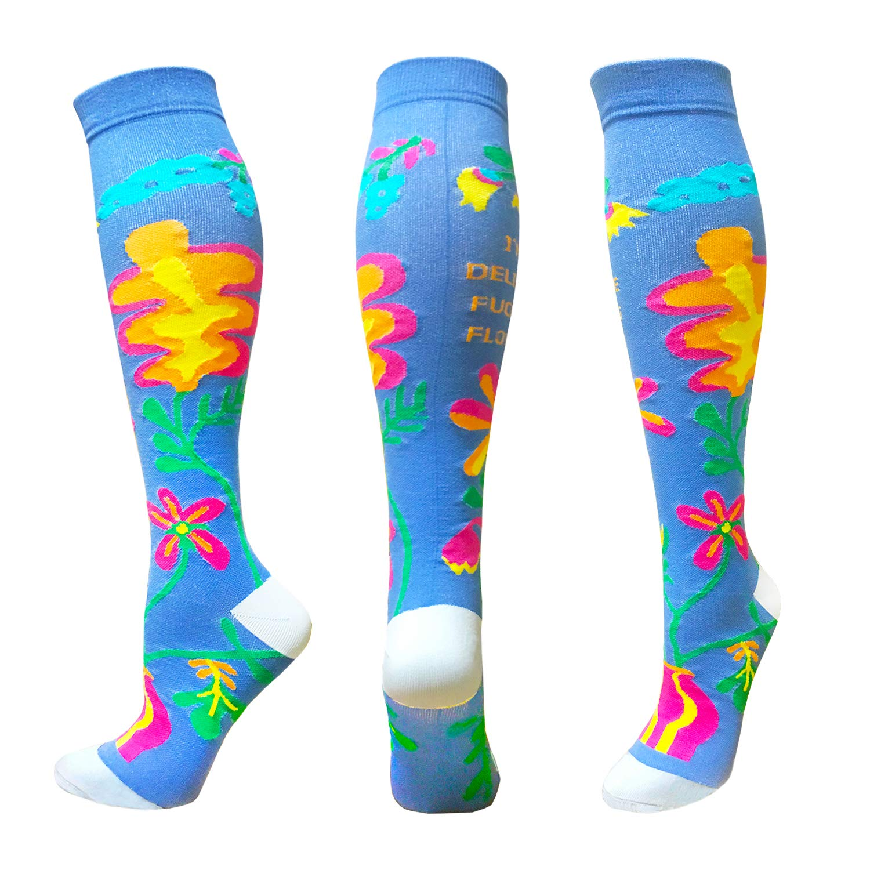 1 Pair - Best Graduated Athletic /& Medical for Running Flight Compression Socks For Men /& Women Travel 20-30mmHg