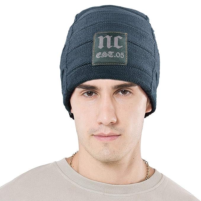 Danolt Cappello Invernale Fluff Cappellino Soft Beanie Morbido Unisex per  Donna e Uomo 7303c6375f5e