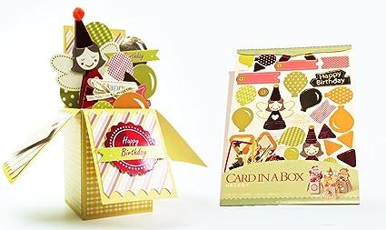 Tarjetas de 3 en 1 Pack Amazing Tarjeta de regalo en la caja para cumpleaños, boda, de felicitación para siempre Amor, San Valentín (feliz cumpleaños): Amazon.es: Oficina y papelería