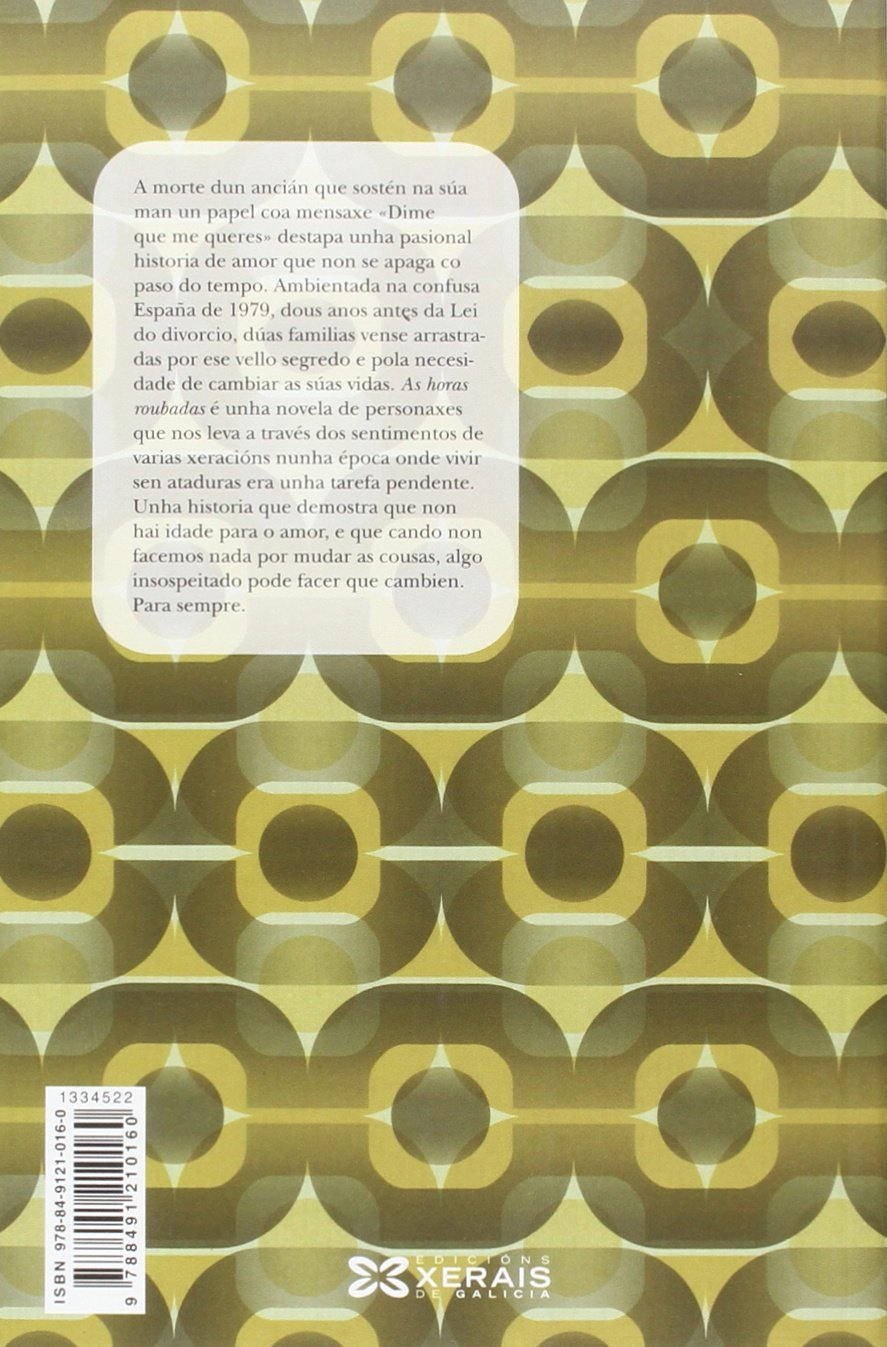 As horas roubadas (Edición Literaria - Milmanda): Amazon.es: Solar ...