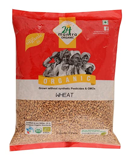 24 Mantra Organic Wheat Premium, 1kg