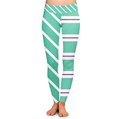 6193e4cf7ab40 Queen of Cases Vanellope von Schweetz Inspired Yoga Leggings - Full Length,  Low Waist