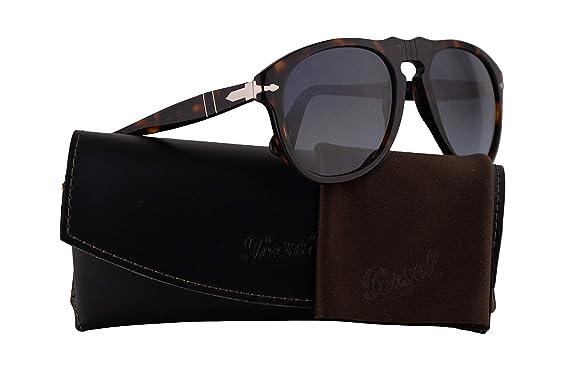 67f5face09 Persol PO0649S Sunglasses Havana w Crystal Sky Gradient Lens 2486 52mm PO  0649 PO0649-