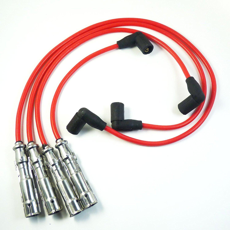 Cable de encendido para bujías 06A998031 para Golf Beetle 1998 1999 2000 2001 06A905409N 06A998031BR: Amazon.es: Coche y moto