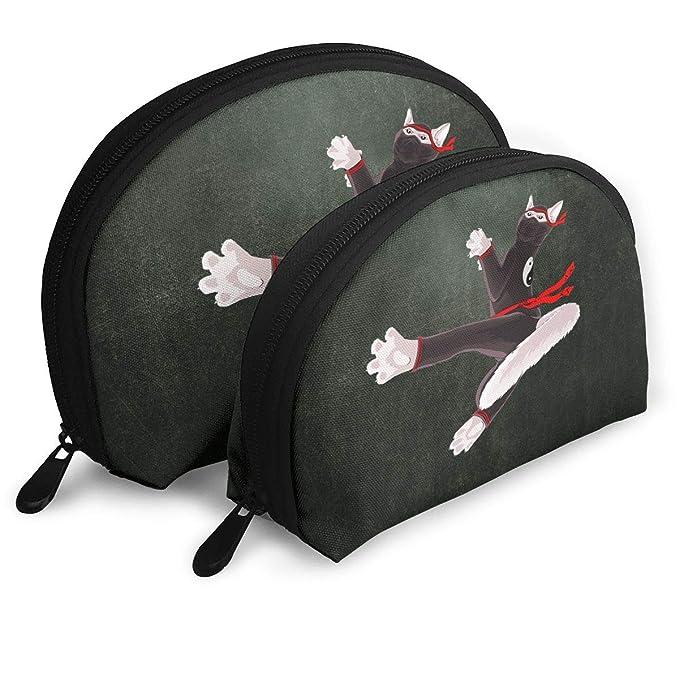 Amazon.com: Ninja Cat Womens Shell Portable Bags Clutch ...