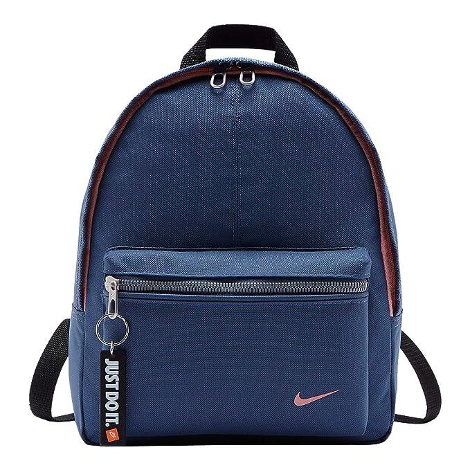 ca9c64c64b Nike Ba4606-492 Zainetto per bambini, 36 cm, Diffused Blu/Nero/Bleached  Coral: Amazon.it: Valigeria