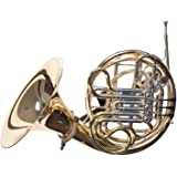 String Swing BHH18-FW French Horn Holder - Black - Flat Wall