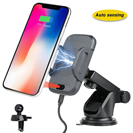 Accessories 10 Watt/Black Professional Retractable 2.1A Car Charger Works with LG G2 Mini has One-Touch Rapid Button System!